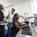 Tamiwe, Edwards, Satish in path lab