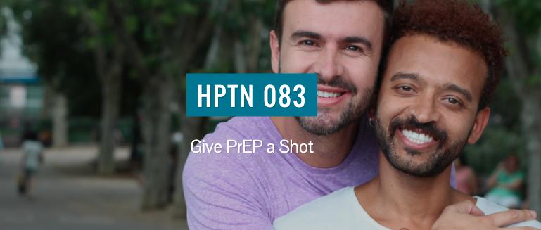 website screenshot showing 2 men and HPTN 082