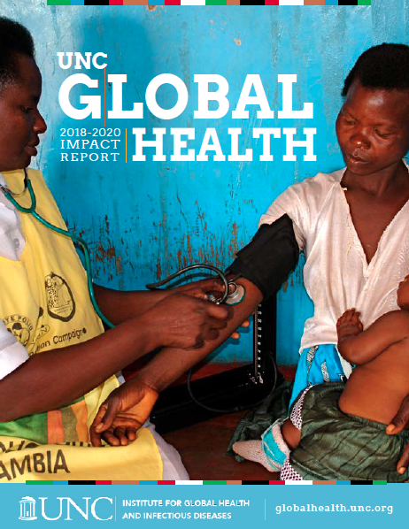 cover of 2018-2020 impact report