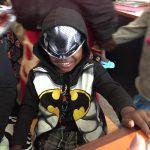 boy in batman costume