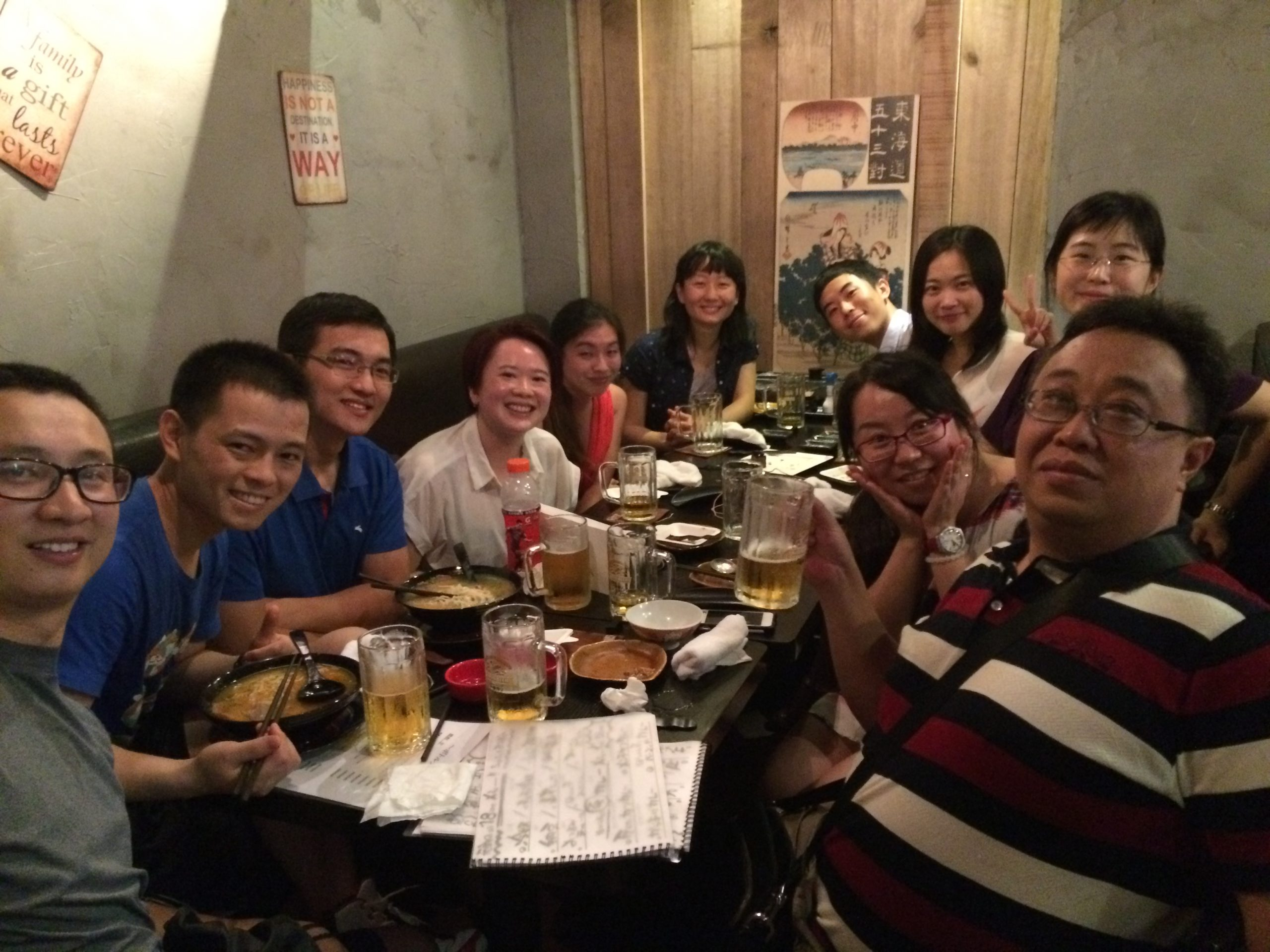 UJMT Trainees in China