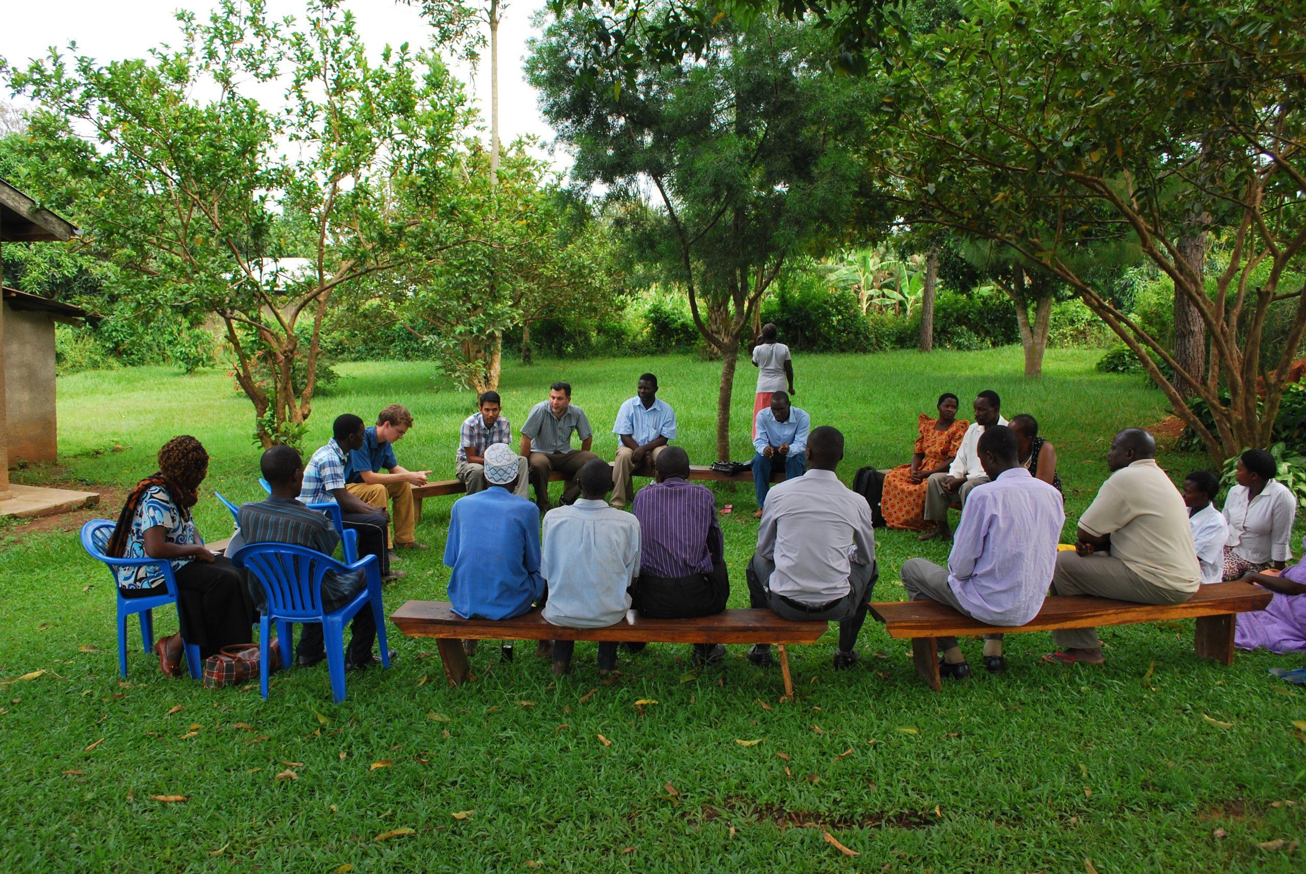 Conducting research in Uganda