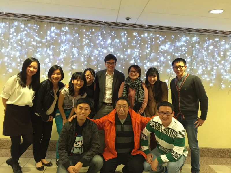 Trainees and Colleagues in China