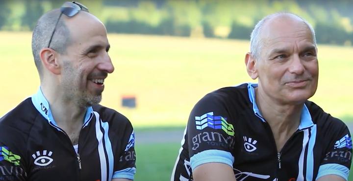 David Wohl and Charlie van der Horst