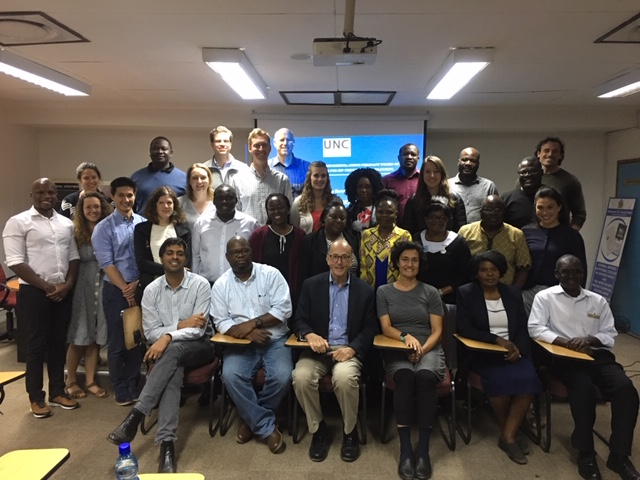 Trainees and Faculty at UNC Project- Malawi