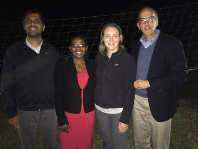 Trainees and faculty at UNC Project-Malawi