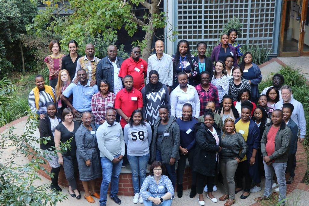 WITS South Africa and UNC HIV Training Program trainees at an implementation science training in South Africa.